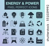 set of pixel perfect energy and ...