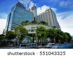 Small photo of SINGAPORE - DECEMBER 29, 2016: Shaw House and Shaw Centre at Orchard Road, Singapore. It is a complex of two neighbouring buildings built by the same developer, Shaw Organisation.