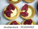 making pastries. | Shutterstock . vector #551054962