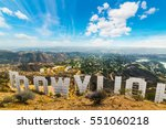 los angeles  california  ... | Shutterstock . vector #551060218