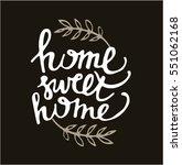 hand lettering typography...   Shutterstock .eps vector #551062168