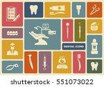 stylized flat symbols of... | Shutterstock .eps vector #551073022