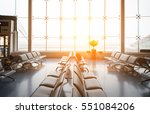 airplane  view from airport... | Shutterstock . vector #551084206