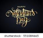 happy valentines day...   Shutterstock .eps vector #551084665