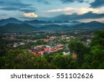 Sunset Over Luang Prabang In...