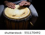 Single West African Drum In...