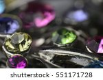 close up with jewelry | Shutterstock . vector #551171728