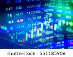 financial accounting of profit... | Shutterstock . vector #551185906