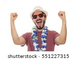 Party Man Prepared For The...