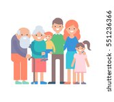 family vector illustration | Shutterstock .eps vector #551236366