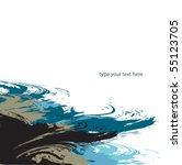 vector grunge background | Shutterstock .eps vector #55123705