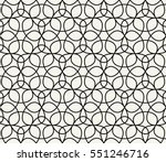 abstract geometric black and... | Shutterstock .eps vector #551246716