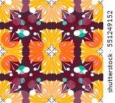 retro pattern design | Shutterstock .eps vector #551249152