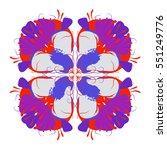 retro pattern design | Shutterstock .eps vector #551249776