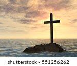 concept or conceptual 3d... | Shutterstock . vector #551256262
