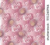 light pink paisleys seamless... | Shutterstock .eps vector #551260966