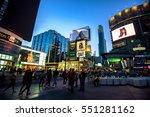 toronto  canada   september 16  ... | Shutterstock . vector #551281162