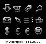 vector ebusiness icon set | Shutterstock .eps vector #55128733