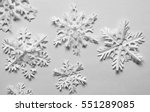 paper snowflakes | Shutterstock . vector #551289085