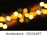 Out Of Focus Lights During The...