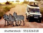 africa  tanzania  serengeti  ... | Shutterstock . vector #551326318