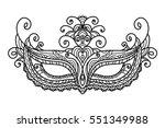 vector  illustration  mask ... | Shutterstock .eps vector #551349988