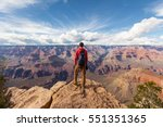 Travel In Grand Canyon  Man...