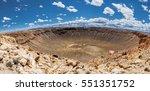 Meteor Crater Panoramic View ...