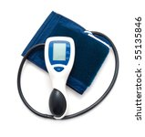 the device for blood pressure... | Shutterstock . vector #55135846