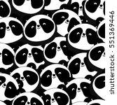 hand drawn seamless pattern... | Shutterstock .eps vector #551369446