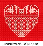 Template With Stylized Heart In ...