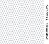 seamless fishnet. flat vector... | Shutterstock .eps vector #551379292