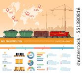 Freight Trains Infographics....