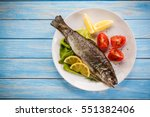 Fish Dish   Roasted Trout With...