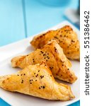 homemade cheese puff pastries... | Shutterstock . vector #551386462