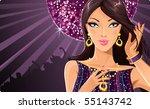 disco diva | Shutterstock .eps vector #55143742