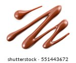 chocolate sauce. hot sweet... | Shutterstock . vector #551443672