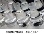 erlenmeyer flasks with...   Shutterstock . vector #5514457