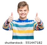 close up emotional portrait of... | Shutterstock . vector #551447182
