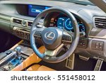 nagoya  japan   sep 13  lexus... | Shutterstock . vector #551458012
