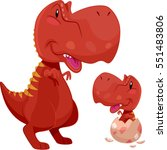 adorable illustration featuring ... | Shutterstock .eps vector #551483806