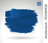 brush stroke and texture....   Shutterstock .eps vector #551484928