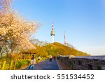 seoul  south korea   april 17 ...   Shutterstock . vector #551534452