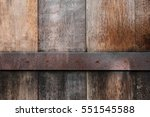 Old Wood Panels Texture With...