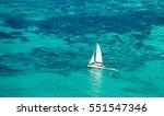 Aerial Picture Of Mauritius...