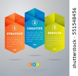 abstract infographics concept... | Shutterstock .eps vector #551548456