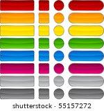 blank web beautiful buttons.... | Shutterstock .eps vector #55157272