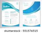 template vector design for... | Shutterstock .eps vector #551576515