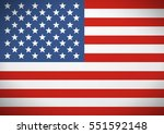 flag of the united states of... | Shutterstock .eps vector #551592148