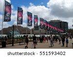 sydney  australia  january 3 ... | Shutterstock . vector #551593402